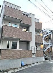 神奈川県横浜市南区中村町2丁目の賃貸アパートの外観