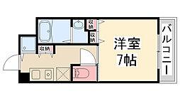 Enuz45[205号室]の間取り