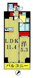 プレール・ドゥーク押上IV[5階]の間取り
