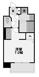 レークス新大阪ウエスト[6階]の間取り