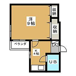 第2正美堂ビル[6階]の間取り