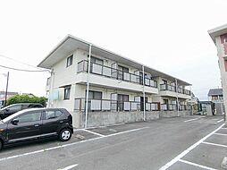 静岡県富士市中柏原新田の賃貸アパートの外観