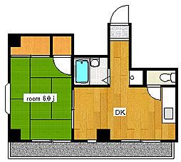 第3東和ビル[501号室]の間取り