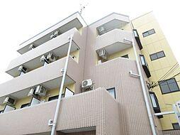 大阪府四條畷市岡山2丁目の賃貸マンションの外観