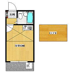 メゾン・ド・鈴木[1階]の間取り