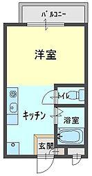 芦屋セレーノ[303号室]の間取り