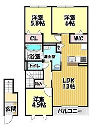 富田林西口駅 8.5万円