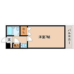 兵庫県尼崎市金楽寺町2丁目の賃貸マンションの間取り