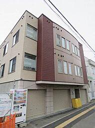 北海道札幌市北区新琴似六条1丁目の賃貸アパートの外観