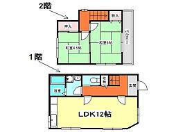 [一戸建] 兵庫県神戸市垂水区歌敷山1丁目 の賃貸【/】の間取り