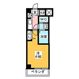フォルビテッツァ岐阜[1階]の間取り