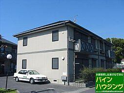 ハイツUNO A棟[102号室]の外観