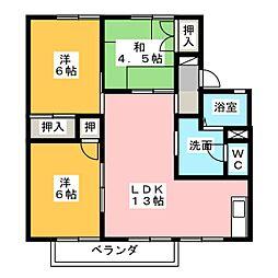 CASADE12[1階]の間取り