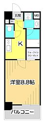 埼玉県和光市中央1丁目の賃貸マンションの間取り