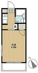 クレセントマンション[302号室]の間取り