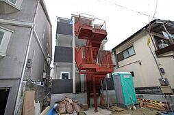 大阪府豊中市本町2丁目の賃貸アパートの外観