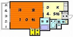 リクトール5[5階]の間取り