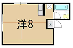 リバレックス[3階]の間取り
