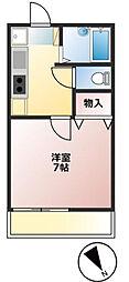 Ichibankan 一番館[1階]の間取り