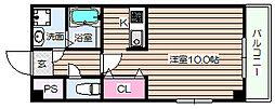 STUDIO-I[3階]の間取り