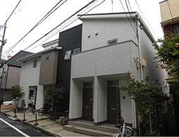 東京都大田区南蒲田1丁目の賃貸アパートの外観