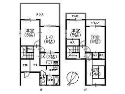 [タウンハウス] 兵庫県神戸市西区上新地2丁目 の賃貸【/】の間取り