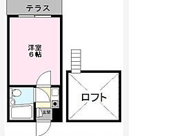 ジュネパレス新松戸第1[1階]の間取り
