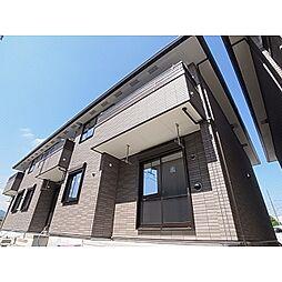 奈良県大和高田市市場の賃貸アパートの外観