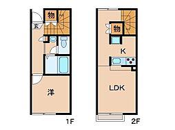 レオネクストほしやII[2階]の間取り