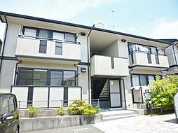 静岡県浜松市東区半田山4丁目の賃貸アパートの外観