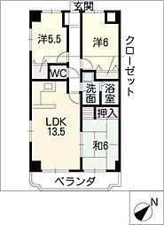 FORTRESS・I[6階]の間取り