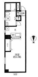 西葛西ビータスビル弐番館[4階]の間取り