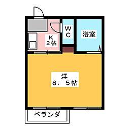 Village FUJIGAOKA[3階]の間取り