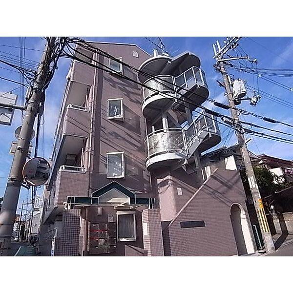 奈良県生駒市東生駒の賃貸マンションの外観