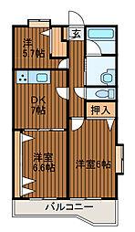 サン・ニューヴィラ町田[3階]の間取り