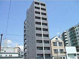 広島県広島市中区広瀬北町の賃貸マンションの外観