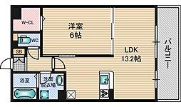 シャルムA[1階]の間取り
