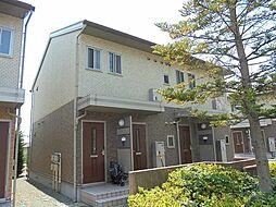 長野県長野市上松1丁目の賃貸アパートの外観