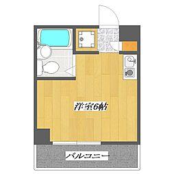 Syuugou-Building[402号室]の間取り