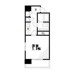 S−FORT登戸[5階]の間取り