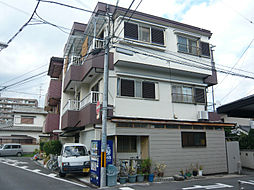 大阪府茨木市新庄町の賃貸マンションの外観