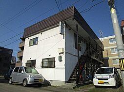 北海道札幌市北区北三十六条西3丁目の賃貸アパートの外観