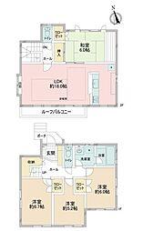 神奈川区三ッ沢上町 中古戸建 4LDKの間取り