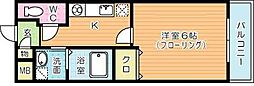 プチ・ロゼ[203号室]の間取り