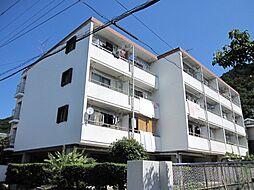 京都府京都市山科区安朱馬場ノ東町の賃貸マンションの外観