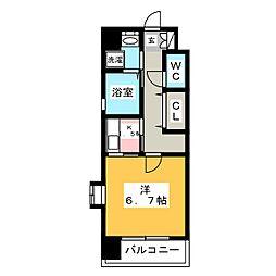 ルービアーレ[2階]の間取り