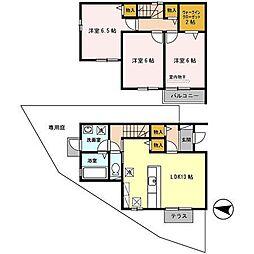 [タウンハウス] 大阪府堺市東区引野町3丁 の賃貸【/】の間取り