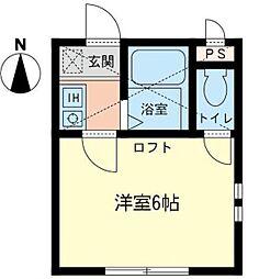 セルベール[1階]の間取り