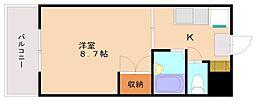 サニーピア柳瀬[5階]の間取り