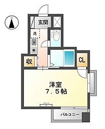 アビタシオンSEI[5階]の間取り